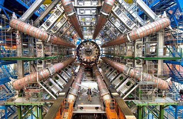 CERN, the world's largest particle physics laboratory in Geneva, Switzerland.
