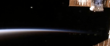 UFO sighting near ISS recorded on live cam – 27th Feb 2015