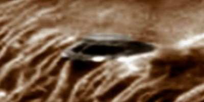 Disk Shaped UFO Sighting on Mars – 27th March 2015
