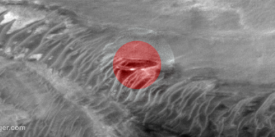 Disc-shaped Object Found On Mars