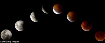 Blood Red Lunar Eclipse this Easter Weekend