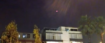 Unknown Red Craft Filmed over Lima, Peru – 13th April 2015