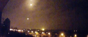 UFO Sighting over above Donetsk Airport – April 2015