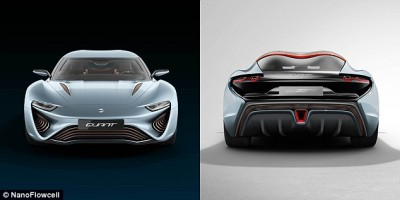 The Sports Car Which Runs On Nothing But Saltwater