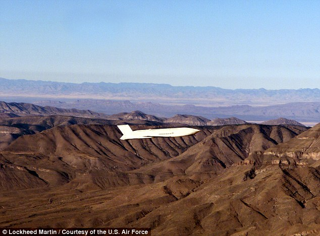 The US Air Force claims Champ has found an ideal delivery vehicle; the stealthy Joint Air-to-Surface Standoff Missile-Extended Range (pictured)