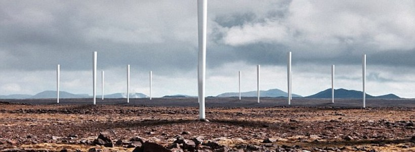 Firm unveils new wind turbines which do not have blades