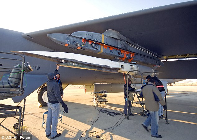 Faster than sound: The Air Force said Friday the X-51A WaveRider flew for more than three minutes under power from its exotic scramjet engine and hit a speed of Mach 5.1