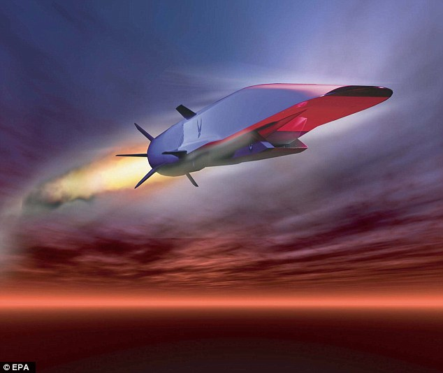 Air Force bosses have revealed they hope to have hypersonic missiles capable of crossing countries in minutes within five years.