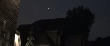 UFO activity over Terrebonne, Canada – 31st May 2015