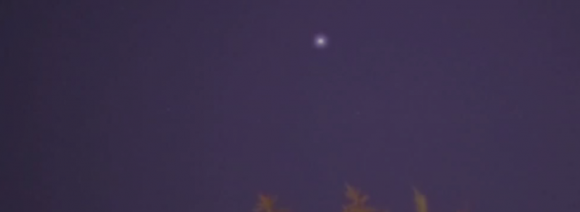 UFO sighting over Paris, France – 6th June 2015