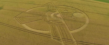 New Crop Circle found In Wiltshire – 25th July 2015