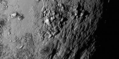 Stunning first hi-definition closeup image of Pluto