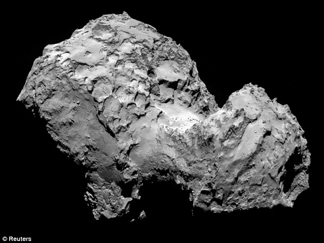 Some astrobiologists believe comets like this may carry biological material freely around the galaxy and seeded life on Earth