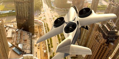 The six seater passenger jet can take off like a helicopter