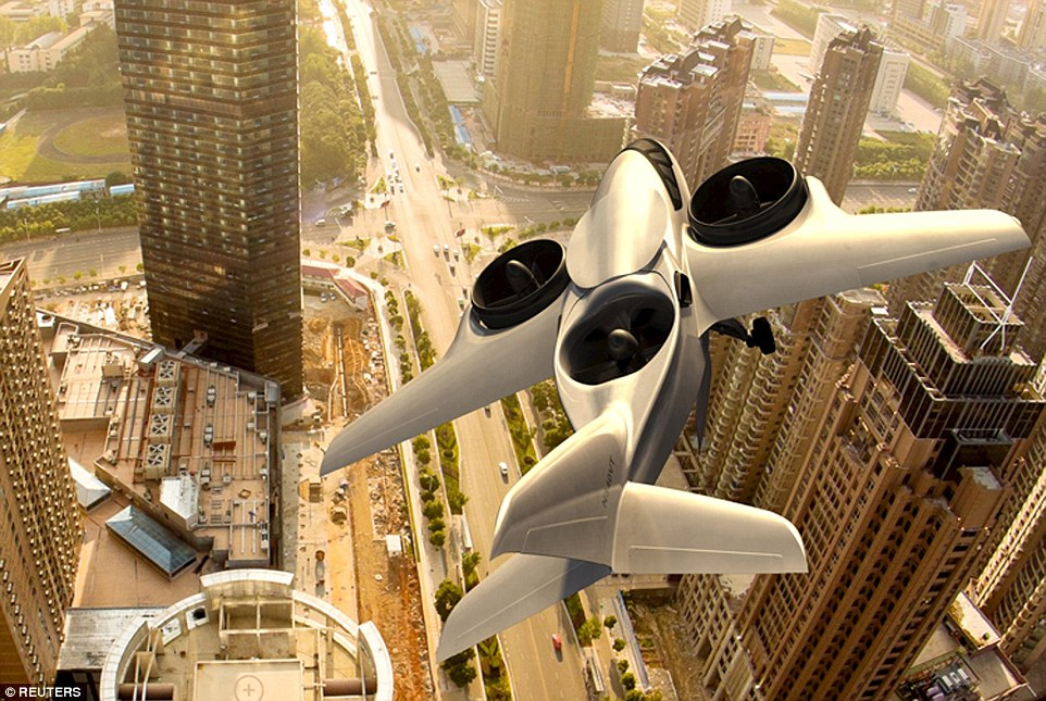 The aircraft is designed to fly as fast and as high as current business jets, but able to land and take off from any paved, helipad-sized space, cutting out the need to travel to airports