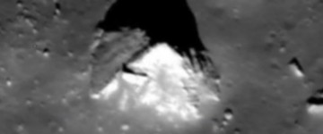 Pyramid structure discovered on the far side of the Moon