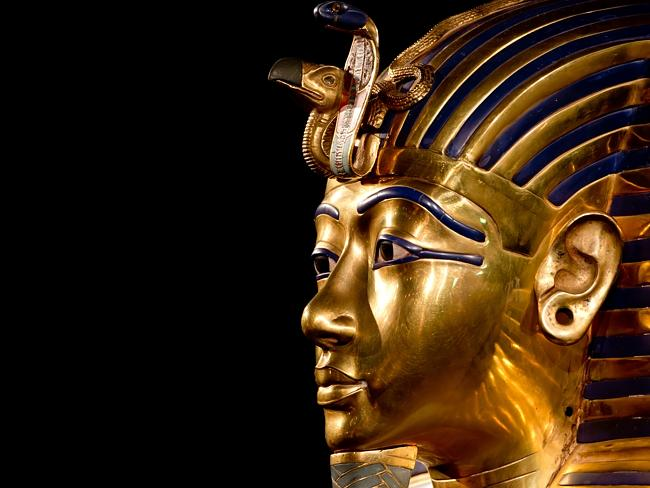 Tutankhamun's famous death mask may have been modified at the last moment to contain his face. Many of the boy-king's treasures appear to have belonged to near relatives
