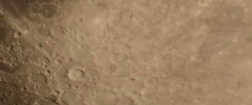 UFO sighting filmed near the Moon – October 2014