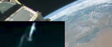 UFO Sighting Filmed near ISS – August 2015