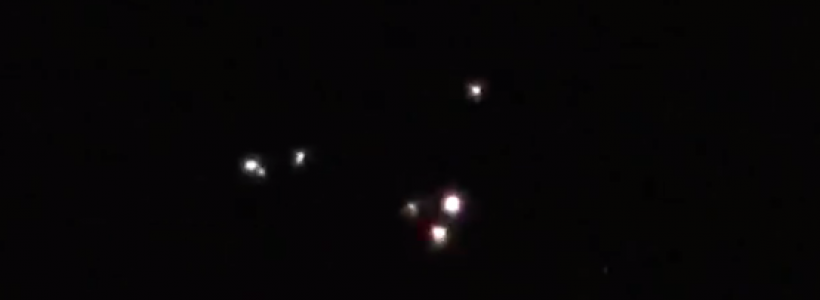 Triangle UFO Sighting Filmed Over Mississippi – February 26, 2015.