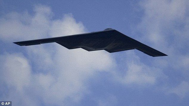 The U.S. Air Force is moving forward with plans for a super-secret next generation bomber that could one day fly without a pilot. A B-2 stealth bomber is pictured above