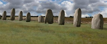"A LARGER ""super-henge"" discovered near Stonehenge"