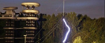 Russia recreates Tesla's electric tower