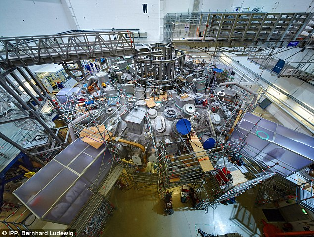 Researchers claim the unusual design, which is housed in a huge lab in Greifswald, Germany, could finally help make fusion power a reality