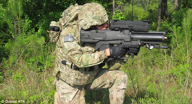 The US Army is planning to test a smart rifle that can hit soldiers who are shielded by cover. The tests, planned for early next year, will monitor the performance of a weapon known as the XM25 Counter Defilade Engagement System which is being developed by Orbital ATK