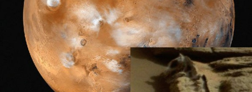 Fossilized dinosaur bones found on Mars