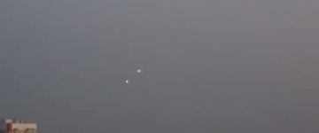 UFO sighting filmed above Moscow, Russia – 21st Oct 2015