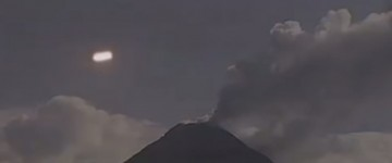 UFO sighting over Colima Volcano, Mexico – 15th Aug 2015