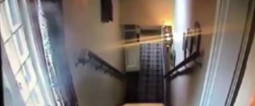 Ghost Sighting Filmed By CCTV Inside Haunted Pub