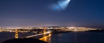 Video of Missile launch over San Francisco Bay
