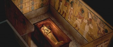 New Infrared Scans Unveil A Hidden Chamber in King Tut's Tomb