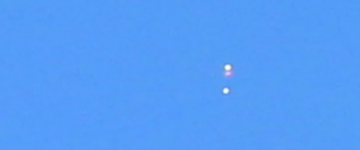 UFO Sighting filmed over Signal Hill, California