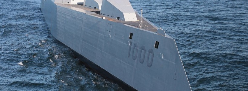 US Navy has revealed its new futuristic stealth destroyer