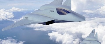 Next generation stealth superjet with built in laser weapons being developed
