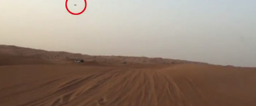 UFO sighting filmed over Sahara Desert – 2015