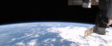 UFOs filmed by International Space Station