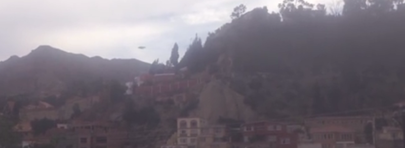 UFO sighting above El Alto, Bolivia – 6th Dec 2015