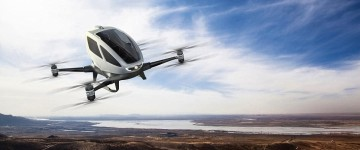New Mega-Drone big enough to carry a passenger