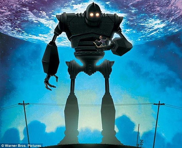One Reddit user claimed that the figure on the clouds resembled the robot from animated movie The Iron Giant