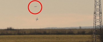 Mystery surrounds images of two fighter jets following a UFO in Bulgaria