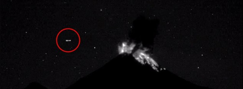 Did a UFO cause a Mexican volcanic eruption?