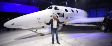Virgin Galactic unveils new passenger spaceship