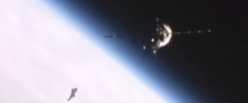 UFO Sighting filmed near the International Space Station – 2016
