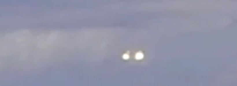 UFO sighting filmed from a plane over New Mexico – October 2014