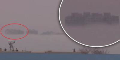 Hundreds report 'PORTAL opening and floating city' in the sky