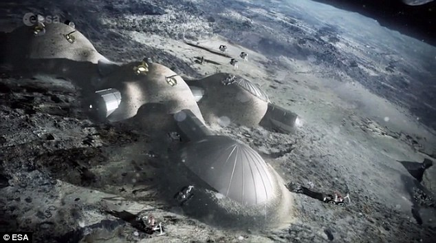 Head of the European Space Agency, Johann-Dietrich Woerner has revealed ideas for an international 'Moon Village' that combines the capabilities of space-faring nations around the world. This settlement would be built using natural resources from the lunar surface to create a permanent base for science, business, and tourism